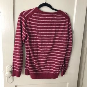 Lightweight 21men striped sweater
